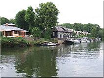 TQ1673 : Eel Pie Island, Twickenham by Malc McDonald