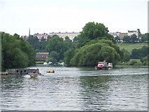 TQ1773 : On the Thames near Richmond by Malc McDonald