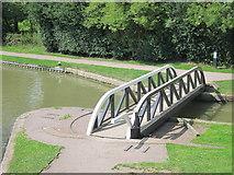SP6989 : Swing bridge by Oast House Archive