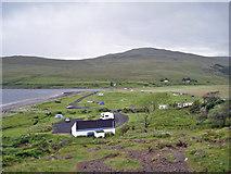 NG4120 : Glen Brittle campsite by Richard Dorrell