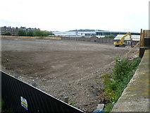 NT2472 : Open ground at Fountainbridge by kim traynor
