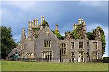 S4176 : Abandoned mansion, Durrow - Knocknatrina House (2) by Mike Searle