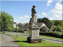 SO2160 : War Memorial, New Radnor by Philip Pankhurst