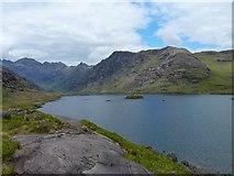 NG4820 : Northern shore of Loch Coruisk by James Allan