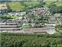 SE0125 : View from Hebden Royd Footpath 59, Mytholmroyd by Humphrey Bolton