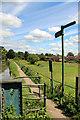 TL3707 : New River Walk, Lee Valley Park by Christine Matthews