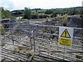 SE3705 : Site of the former Yorkshire brickworks by Steve  Fareham