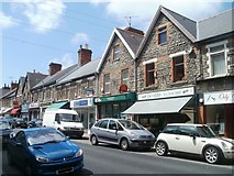ST1067 : High Street post office, Barry by Jaggery