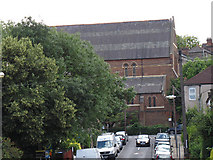 TQ4077 : South side of St George's church by Stephen Craven