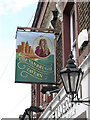 TQ3977 : Sign for the Vanbrugh Tavern by Stephen Craven