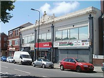 ST1067 : Four Broad Street business, Barry by Jaggery