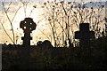 SW5437 : Lelant : Lelant Cemetery by Lewis Clarke