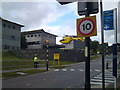 SW7945 : Air Ambulance taking off from Royal Cornwall Hospital Trelisk  by Steve Marquis