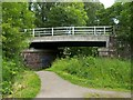 NS5085 : Road bridge over the West Highland Way by Lairich Rig