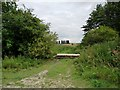SE4515 : Blocked field entrance, off Ninevah Lane by Christine Johnstone