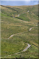 NY5503 : Breasthigh Road by Peter McDermott