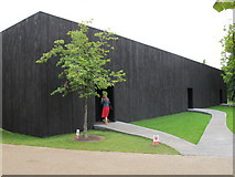 TQ2679 : Serpentine Gallery Pavilion 2011 outside view by David Hawgood