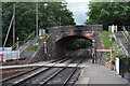 ST1629 : Road Bridge at Bishops Lydeard Station by Ashley Dace