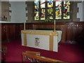 NZ0516 : St Mary's Parish Church, Barnard Castle. Altar by Alexander P Kapp