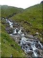 NN3341 : Cascades, Allt Coire Achaladair by Michael Graham