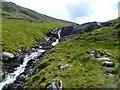 NN3341 : Waterfall, Allt Coire Achaladair by Michael Graham