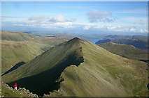 NY3415 : Catstye Cam & Swirral Edge by David Robinson