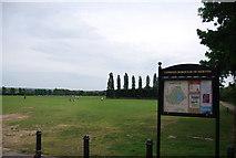 TQ2472 : Wimbledon Park, Wimbledon Park Rd entrance by N Chadwick