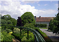 SU3802 : Beaulieu Abbey from the Monorail by Des Blenkinsopp