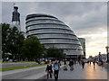TQ3380 : City Hall, London SE1 by Christine Matthews