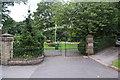 SD8906 : Park gates at Chadderton Hall Park by Bill Boaden