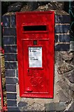 SO7845 : George VI wall mounted postbox, Barnard's Green Road, Great Malvern by P L Chadwick