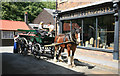 SJ6903 : Horse and Cart at Blists Hill by roger geach