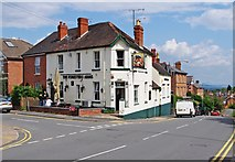 SO7845 : The Foresters Arms (1), 2 Wilton Road, Great Malvern by P L Chadwick