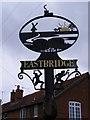 TM4566 : Eastbridge Village sign by Adrian Cable