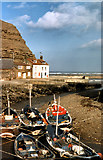 NZ7818 : Staithes Beck, Staithes by David Dixon