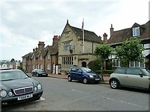 TQ3024 : Cuckfield Museum and Library on the High Street by Dave Spicer