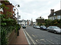 TQ3024 : Cuckfield High Street approaching junction with South Street and Broad Street by Dave Spicer