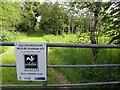 H4781 : Entrance, Cullion Woodland by Kenneth  Allen