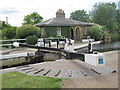 TQ1479 : Lock keepers house at Lock 93, Hanwell Locks by Oast House Archive
