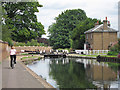 TQ1479 : Lock 93 and lock keepers house by Oast House Archive