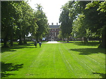 TQ1773 : The approach to Ham House from the River Thames by Rod Allday