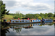 TL3706 : Narrow Boats, River Lee Navigation, Broxbourne, Hertfordshire by Christine Matthews