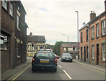 SK1846 : Derby road Sturston Road junction by John Firth