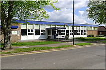 SP8733 : Bletchley Library, Westfield Road, Bletchley by Cameraman