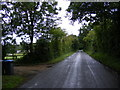TM4363 : Abbey Lane, Leiston & the footpath to Buckleswood Road by Adrian Cable