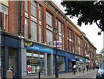 SE5703 : Doncaster - Scot Lane by Dave Bevis