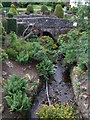 NJ1535 : Stream beside the Tormore Distillery by Richard Hoare