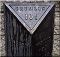 J2664 : Milepost, Lisburn (4) by Albert Bridge