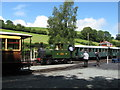 SJ1006 : Llanfair Caereinion station by Gareth James