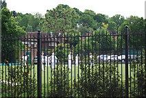TQ2472 : Croquet, All England Lawn Tennis and Croquet Club by N Chadwick